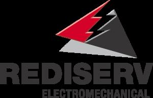 rediserv logo stacked, electromechanical